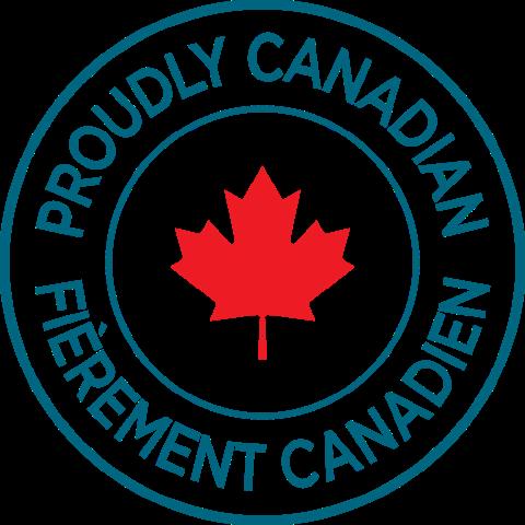 DAINTY LOGO Proudly Canadian bilingue