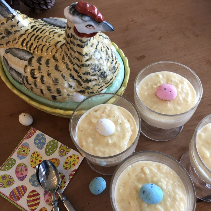 Tres Leches rice pudding