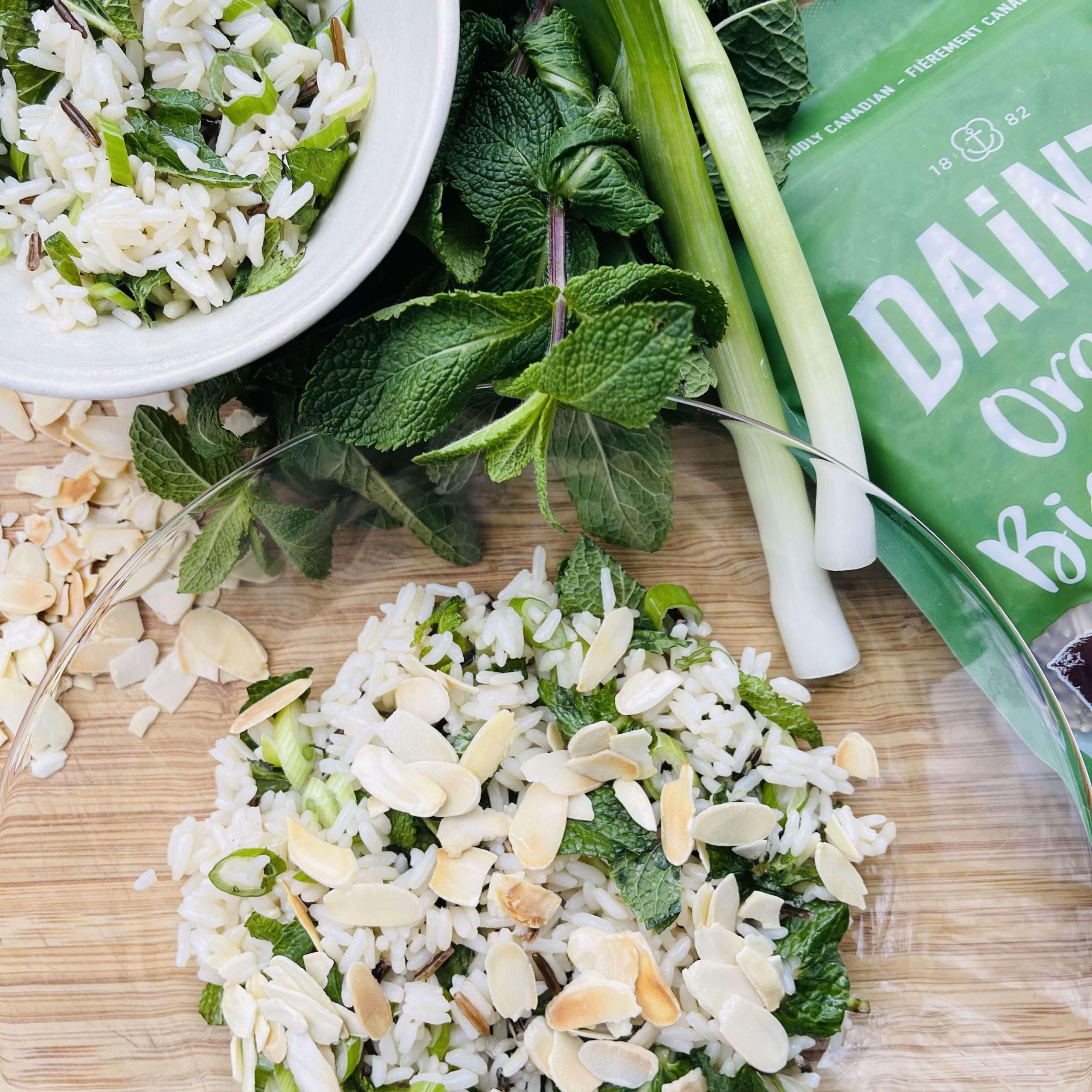 spring-onion-mint-pilaf