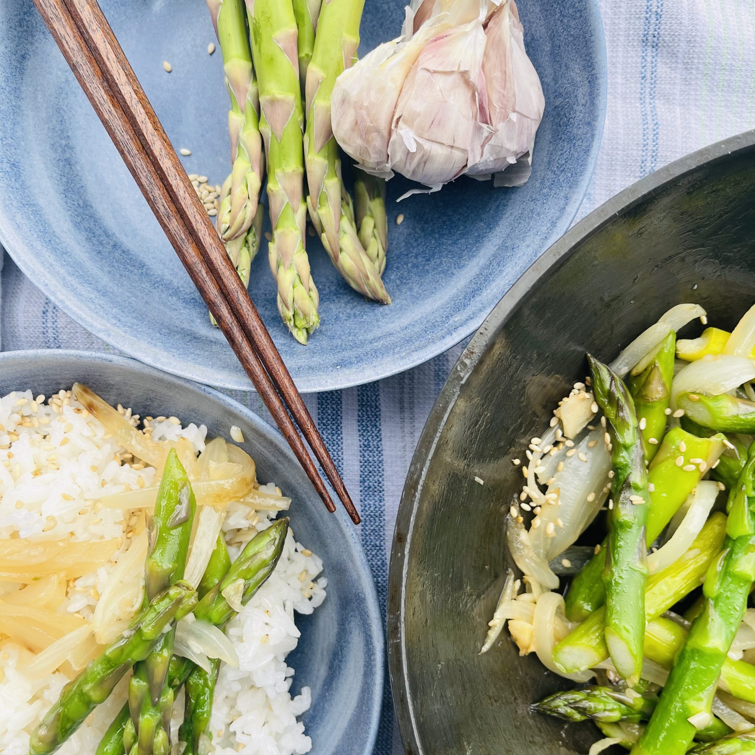 garlic-asparagus-rice