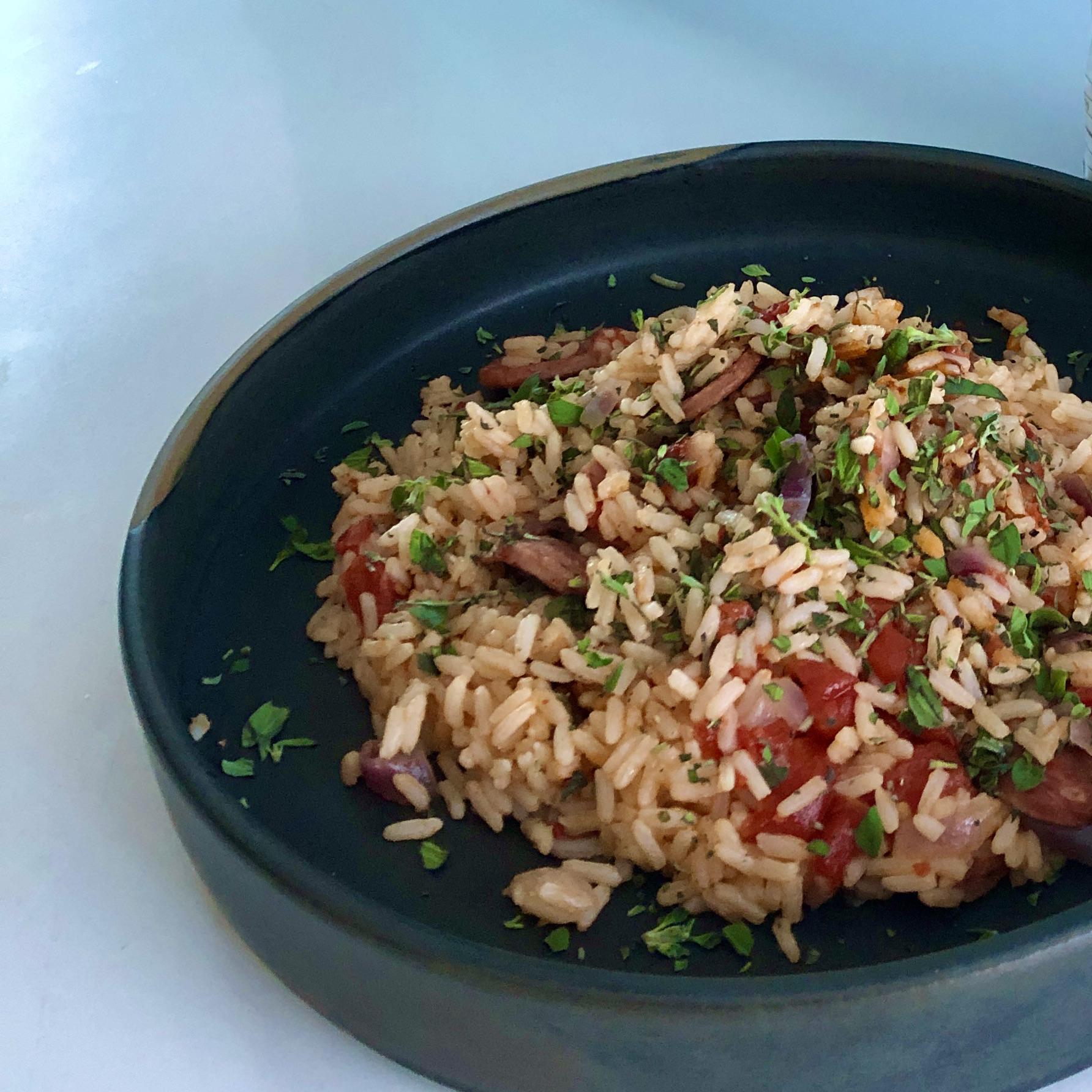 rice cooker jambalaya